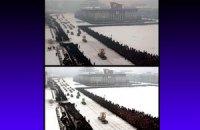 """""""Корейский фотошоп"""": на Западе разоблачили отретушированные похороны Ким Чен Ира"""