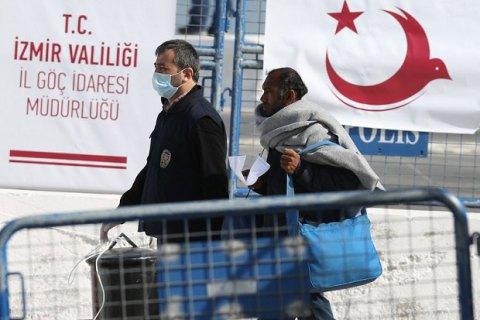 Греція депортувала першу групу мігрантів у рамках угоди з Туреччиною