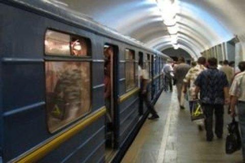 """В столичном метро останавливались поезда на """"красной"""" ветке"""