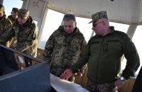 Міністр оборони і начальник Генштабу відвідали передові позиції ООС