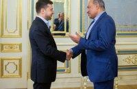 Зеленський уперше зустрівся з головою ЄБРР і пообіцяв продовжувати реформи