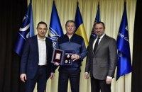 Олега Блохіна відзначено високою державною нагородою