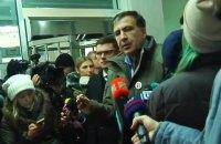 Саакашвили сорвал допрос в Генпрокуратуре и потребовал передать его дело СБУ (обновлено)