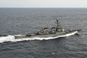 Американський есмінець зіткнувся з танкером