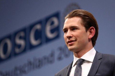 Голова МЗС Австрії приїде на Донбас 3-4 січня