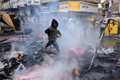 Під час розгону антиурядових протестів в Іраку 4 людини загинули, 44 поранені