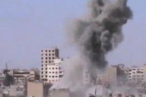 Сірійська авіація розбомбила будинок у контрольованому повстанцями місті