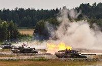Украина заняла восьмое место в международных танковых соревнованиях НАТО