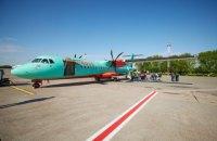 Зеленський прилетів на Дніпропетровщину першим рейсом WindRose Київ – Кривий Ріг
