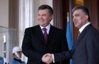Янукович встретился с первыми лицами Турции