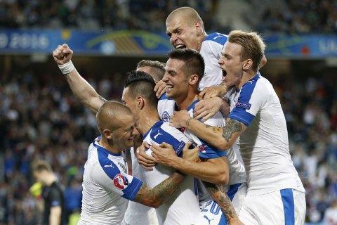 Росія програла Словаччині на Євро-2016