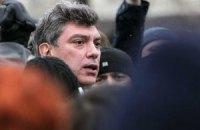 В Москве задержали Немцова с 10-ю пикетчиками в поддержку Евромайдана