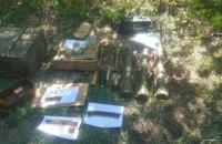 У Донецькій області виявлено боєприпаси, які могли бути використані для диверсії на мирній частині України