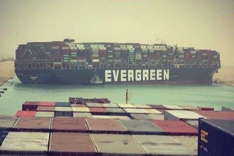 Власти Египта арестовали судно Ever Given, которое в течение недели блокировало Суэцкий канал