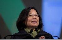 Президент Тайваню допускає можливість нападу з боку Китаю