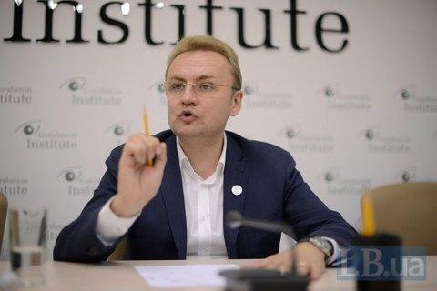 """""""Самопомощь"""" пойдет и на президентские, и на парламентские выборы, - Садовый"""