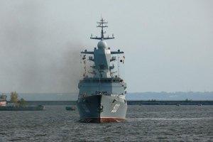 У Севастополь зайшли 4 кораблі Північного і Балтійського флотів