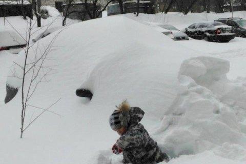 Завтра в Києві обіцяють сильний сніг, до -11 градусів