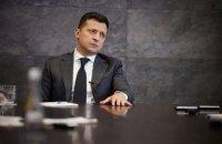 Зеленський назвав припинення вогню першим кроком до врегулювання конфлікту на Донбасі