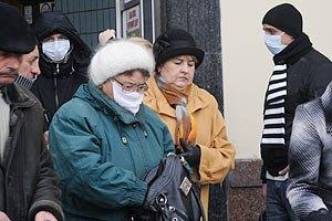 В Украине почти 200 тыс. больных гриппом и ОРВИ