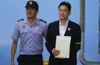 Голову Samsung достроково звільнили з в'язниці