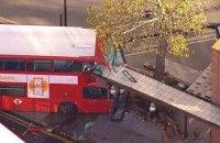 20 людей постраждали внаслідок аварії двоповерхового автобуса в Лондоні