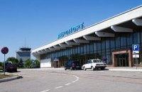 В херсонском аэропорту появился первый регулярный рейс