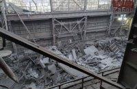 У Запоріжжі в цеху феросплавного заводу Коломойського обвалився дах