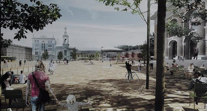 Пешеходная Контрактовая площадь