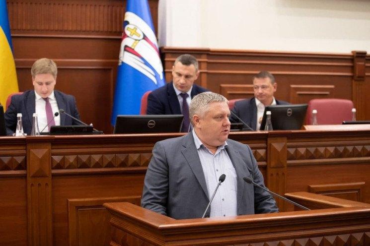 Андрій Крищенко на засіданні Київради