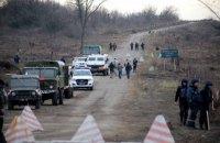 Бойовики з гранатометів обстріляли ділянку розведення сил у Золотому