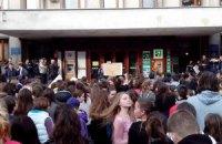 Голосование в школах Ужгорода по поводу каникул не проводилось
