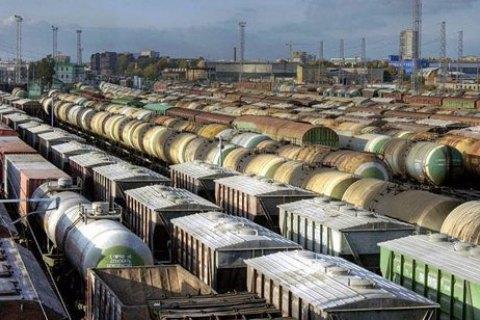 """""""Укрзалізниця"""" заборонила вантажоперевезення і транзит у вагонах найбільших залізничних операторів Росії"""