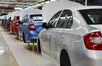 В Украине за год выпустили 7 тысяч легковых автомобилей