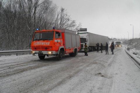 В Одеській і Миколаївській областях обмежили рух транспорту через негоду