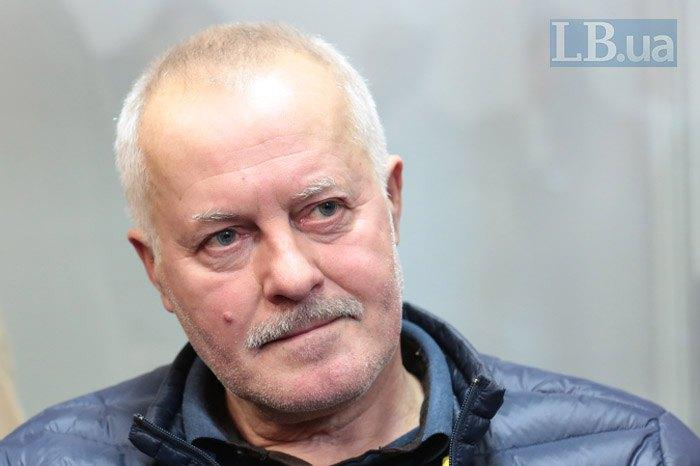 Володимир Замана під час засідання суду