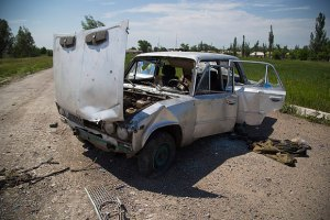 Бойовики двічі намагалися вибити бійців АТО з їхніх позицій в Мар'їнці
