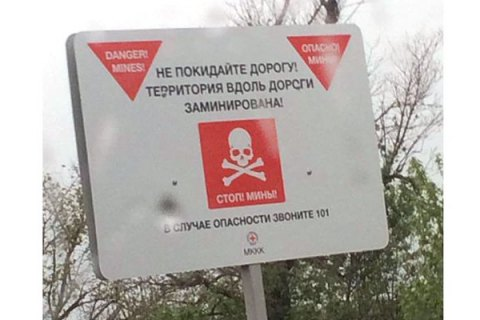 Украина стала мировым лидером по количеству погибших от взрывов мин