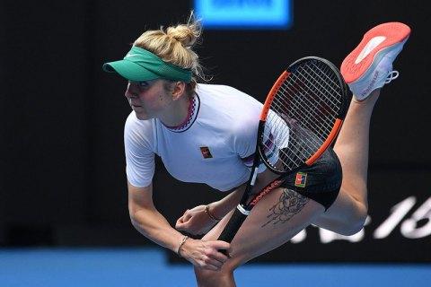 Свитолина обыграла экс-первую ракетку мира и вышла в четвертьфинал турнира в Дубае