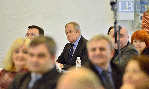 Ярослав Романюк підчас тестування кандитатів до Верховного суду