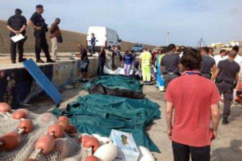 У побережья Италии затонула лодка с мигрантами