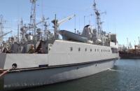 """Навчальний катер ВМС України """"Чигирин"""" вийде у свій перший похід після ремонту"""