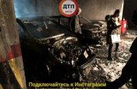 На подземной парковке в Киеве сгорели 5 автомобилей