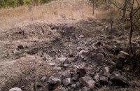 Боевики применили тяжелую артиллерию в окрестностях Крымского