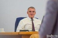 Мэр Николаева синхронно переводил выступления депутатов ОПЗЖ, которые отказались говорить по-украински