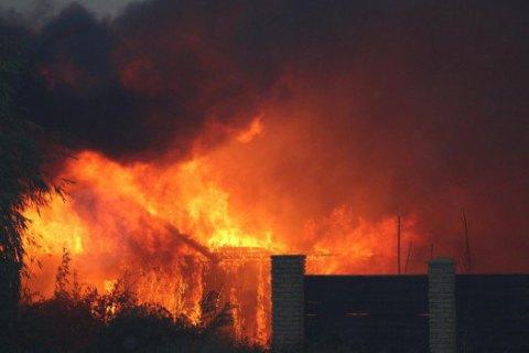 Збитки від лісової пожежі в Станично-Луганському районі оцінили в 1,2 млн грн