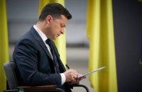 Зеленський ввів у дію рішення РНБО про активізацію врегулювання на Донбасі
