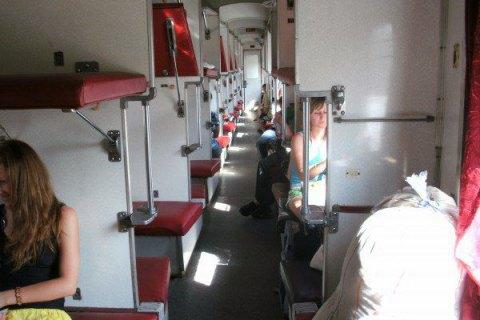 62% пассажирских вагонов Украине не оборудованы кондиционерами