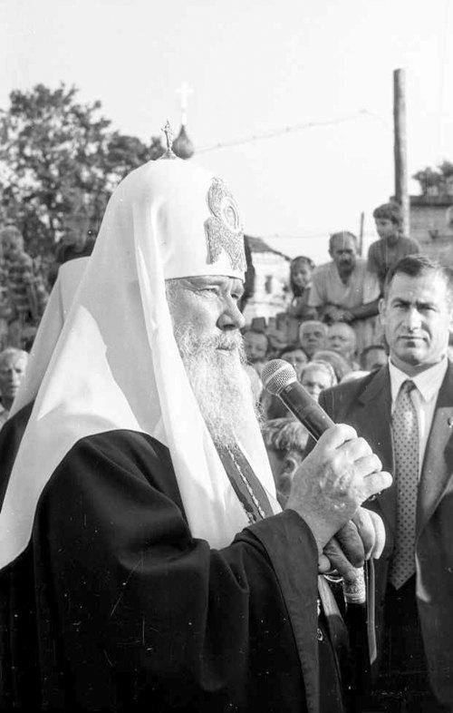 Глава РПЦ патриарх Алексий II, 1997 г