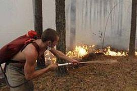 В России бушуют лесные пожары